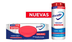 TOALLAS DESINFECTANTES SUPERFICIES VIRUS LYSOL ESCUDO